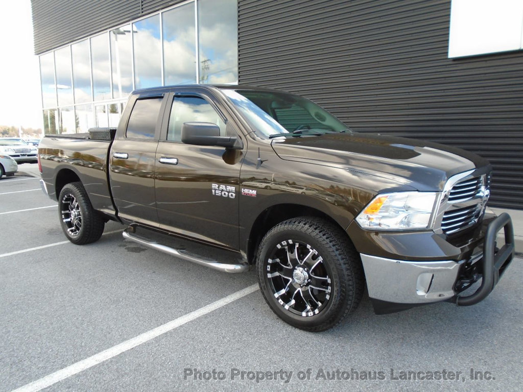 "Pre-Owned 2014 Ram 1500 4WD Quad Cab 140.5"" Big Horn"