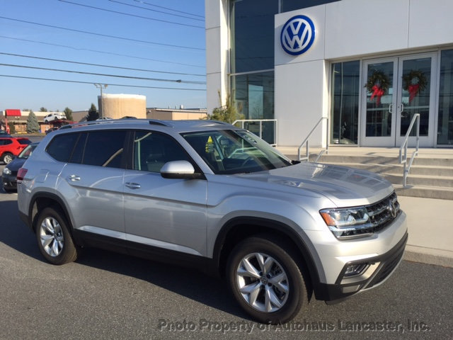 New 2019 Volkswagen Atlas 3 6l V6 Se 4motion Awd