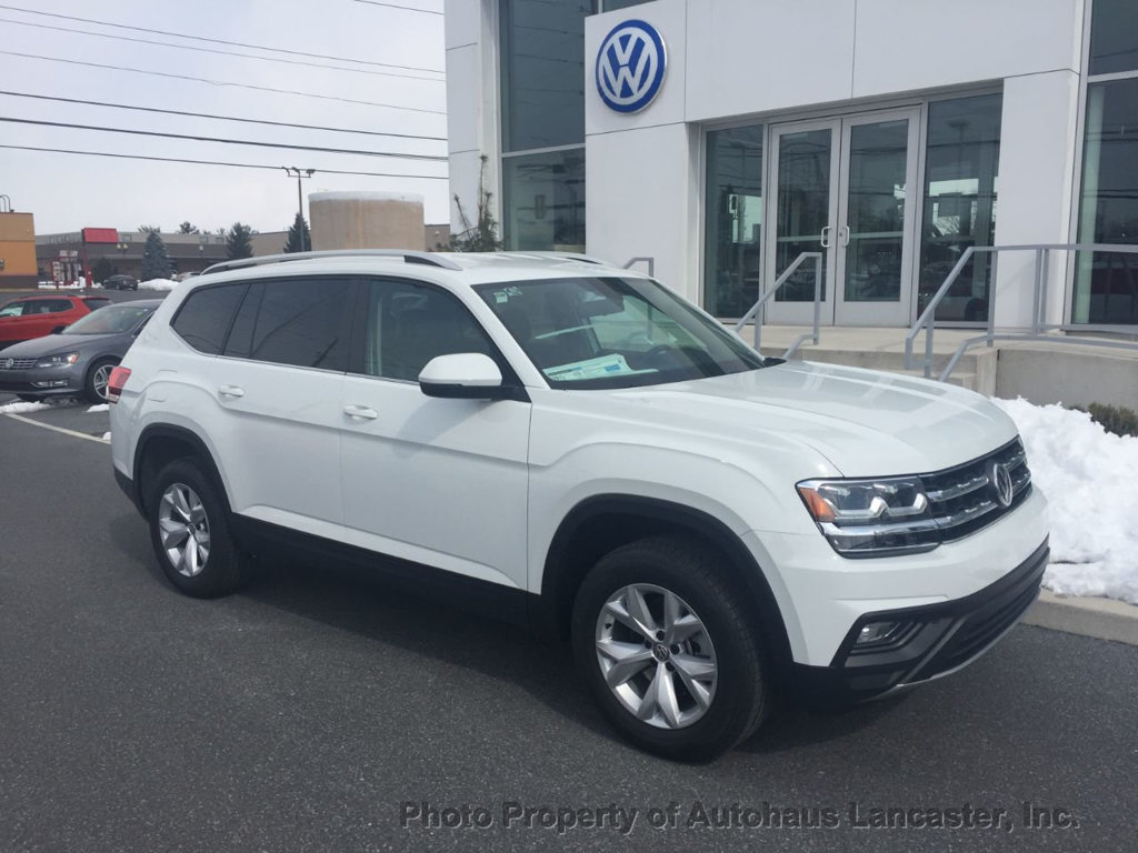 New 2019 Volkswagen Atlas 3.6L V6 SE 4MOTION AWD