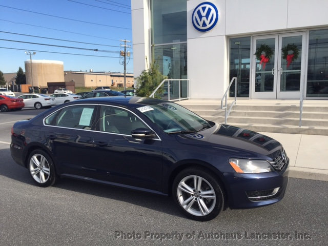 Certified Pre-Owned 2015 Volkswagen Passat 4dr Sedan 2.0L TDI DSG SE w/Sunroof