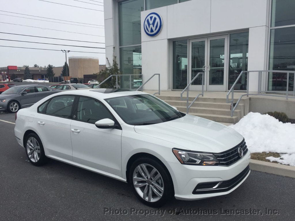 New 2019 Volkswagen Pat 2 0t Wolfsburg Edition Automatic