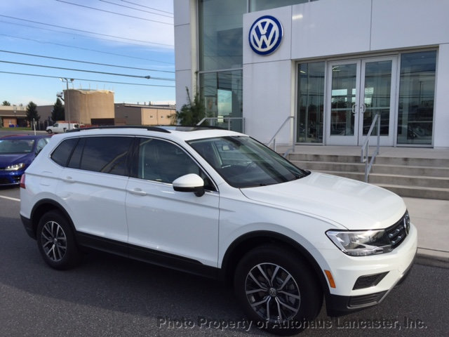 New 2019 Volkswagen Tiguan 2 0t Se 4motion Suvs In Lancaster 191092