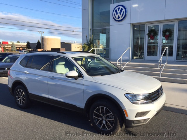 New 2019 Volkswagen Tiguan 2 0t Se 4motion Suvs In Lancaster 191134