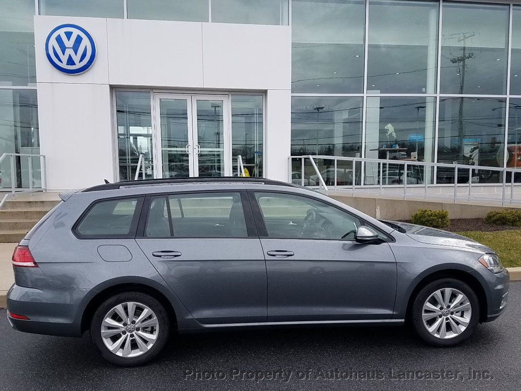 New 2018 Volkswagen Golf SportWagen 1 8T S Automatic 4MOTION Sedan