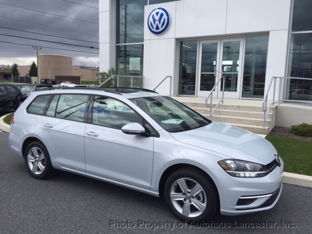 New 2018 Volkswagen Golf SportWagen 1 8T SE Automatic Sedan in
