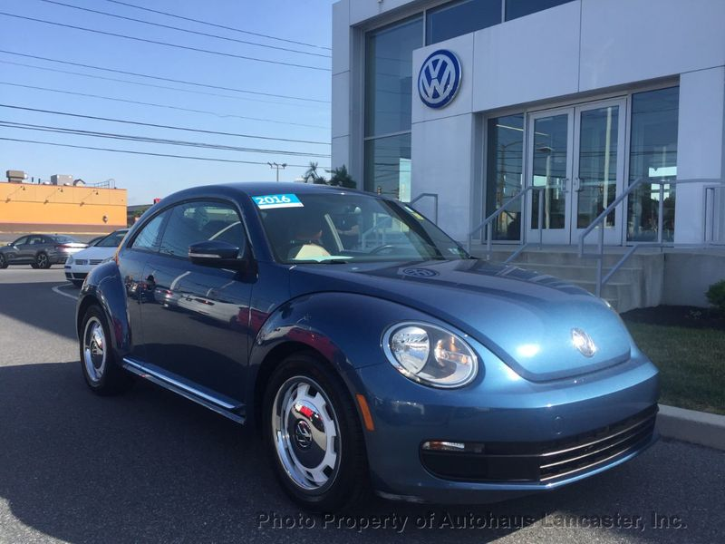 Certified Pre-Owned 2016 Volkswagen Beetle Coupe 2dr Automatic 1.8T Classic