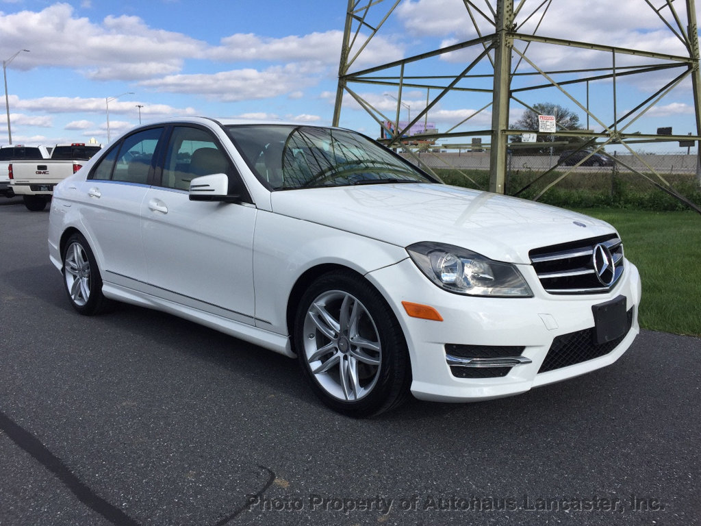 Pre Owned 2014 Mercedes Benz C Class 4dr Sedan C 300 Sport 4MATIC
