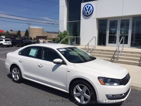 Certified Pre-Owned 2015 Volkswagen Passat 4dr Sedan 1.8T Automatic Limited Edition