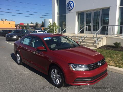Certified Pre-Owned 2018 Volkswagen Jetta 1.4T S Manual