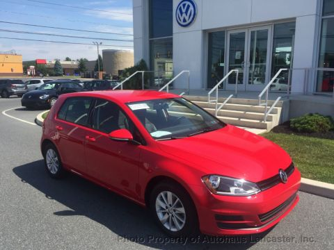 Certified Pre-Owned 2015 Volkswagen Golf 4dr Hatchback Automatic S