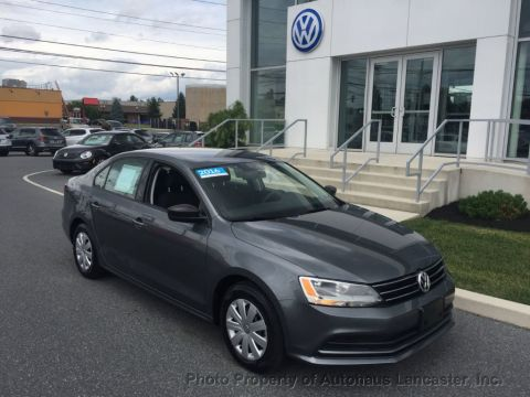 Certified Pre-Owned 2016 Volkswagen Jetta Sedan 1.4T S w/Technology 4dr Automatic