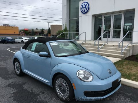 Certified Pre-Owned 2015 Volkswagen Beetle Convertible 2dr Automatic 1.8T PZEV