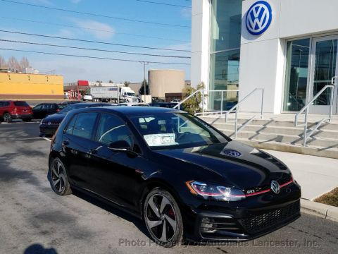 Pre-Owned 2018 Volkswagen Golf GTI 2 0T 4-Door SE DSG Sedan