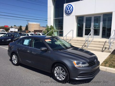 Certified Pre-Owned 2015 Volkswagen Jetta Sedan 4dr Automatic 1.8T SE w/Connectivity