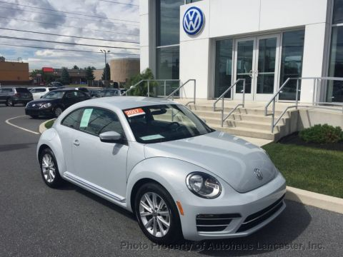 Certified Pre-Owned 2017 Volkswagen Beetle 1.8T SE Automatic