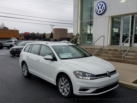New 2018 Volkswagen Golf SportWagen 1.8T SEL Automatic