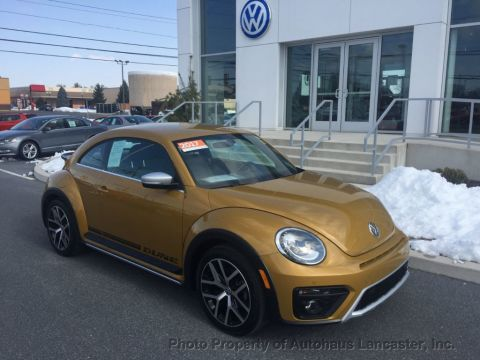 Certified Pre-Owned 2017 Volkswagen Beetle 1.8T Dune Automatic