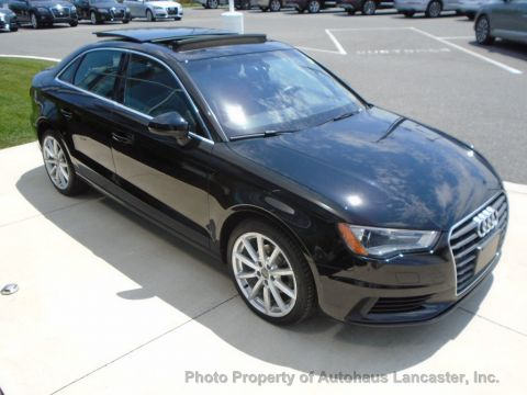 Pre-Owned 2015 Audi A3 4dr Sedan FWD 2.0 TDI Premium Plus