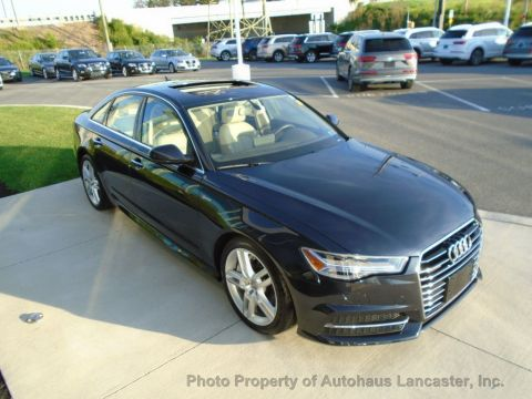 Pre-Owned 2016 Audi A6 4dr Sedan quattro 3.0T Premium Plus