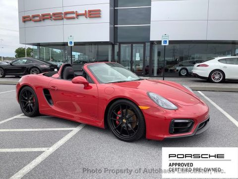 Pre-Owned 2016 Porsche Boxster 2dr Roadster GTS