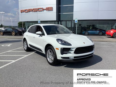 Pre-Owned 2020 Porsche Macan AWD With Navigation & AWD